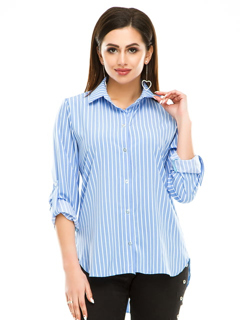 Рубашка в полоску Exclusive. 4937164