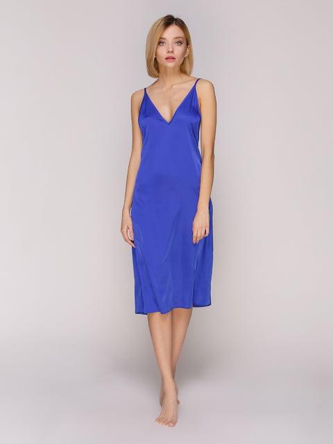 Сорочка нічна кольору електрик Lapin 4931637