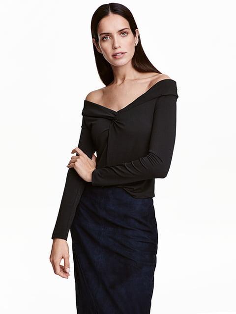 Блуза черная H&M 4938072