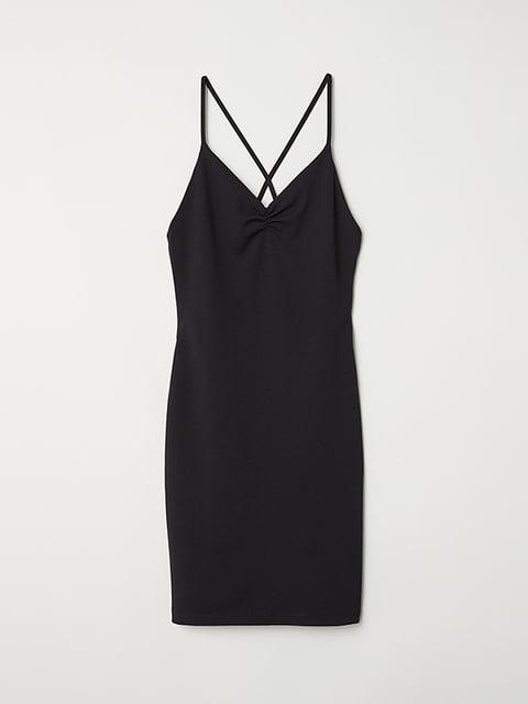 Сукня чорна H&M 4938381