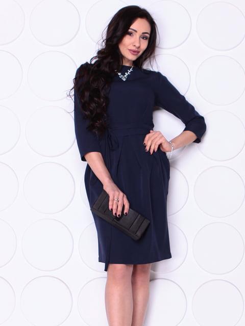 Сукня темно-синього кольору Laura Bettini 4948177