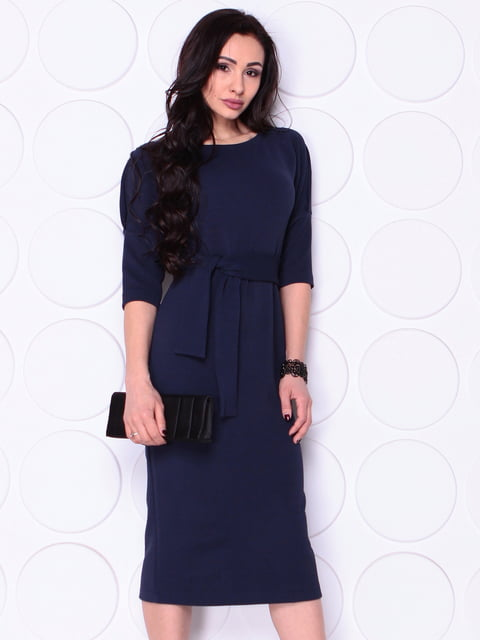 Сукня темно-синього кольору Laura Bettini 4948193