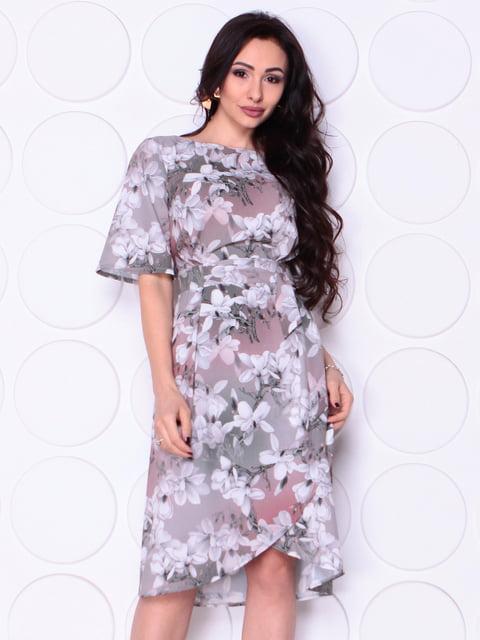 Платье в цветочный принт Laura Bettini 4948200