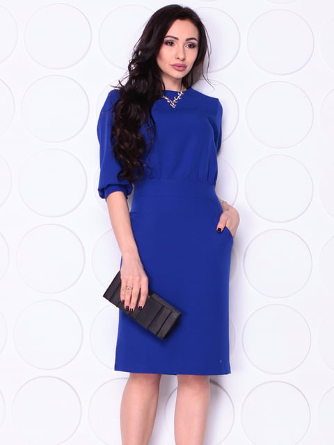 Сукня кольору електрик Laura Bettini 4948207