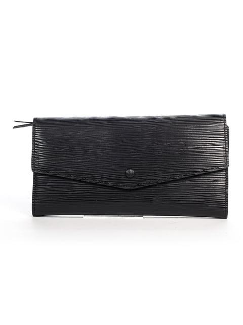 Клатч чорний Italian Fashion 4920619