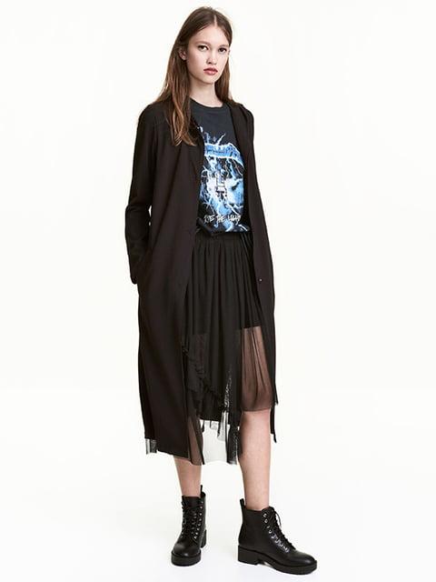 Пальто черное H&M 4937004