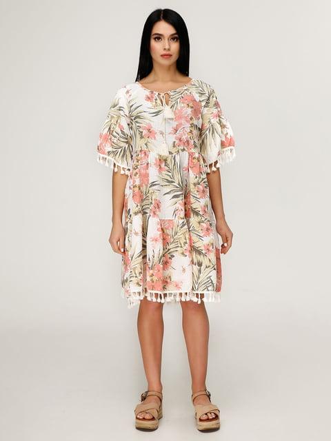 Платье в цветочный принт Favoritti 4949901