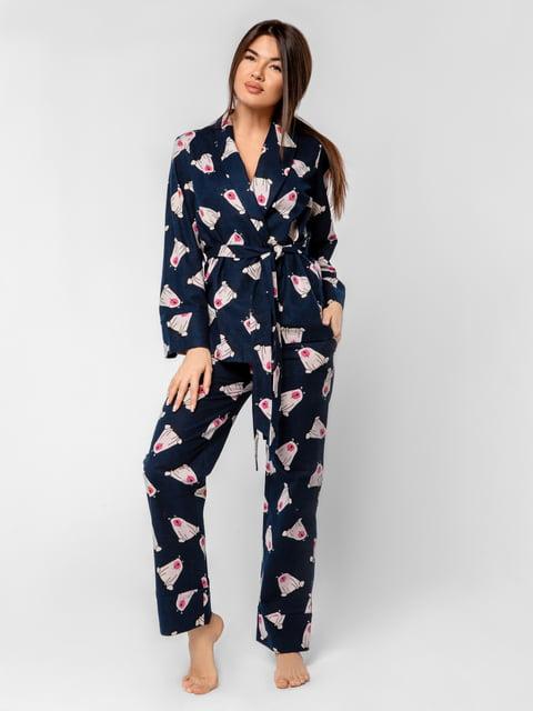 Пижама: халат и брюки Gepur 4949252