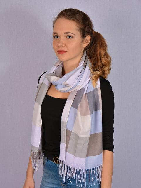 Палантин комбинированной расцветки Fashion Look 4950158