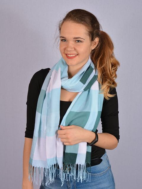 Палантин комбинированной расцветки Fashion Look 4950160