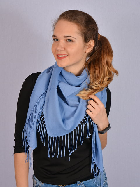 Платок синий Fashion Look 4950173
