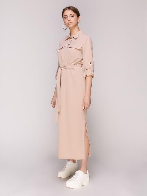 Сукня бежева Loca 4932380