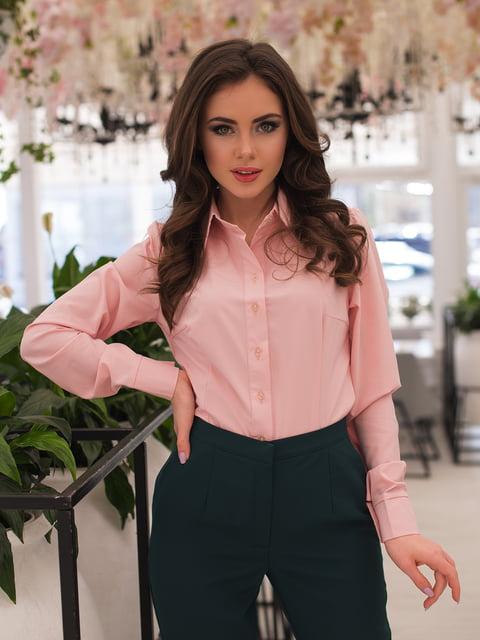 Рубашка цвета пудры ELFBERG 3064330