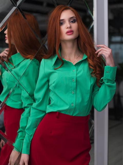 Рубашка зеленая ELFBERG 3064336