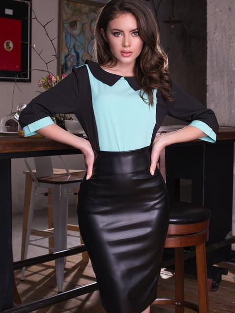 Блуза двоколірна ELFBERG 4613555