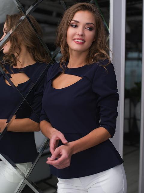 Блуза темно-синя ELFBERG 4613601
