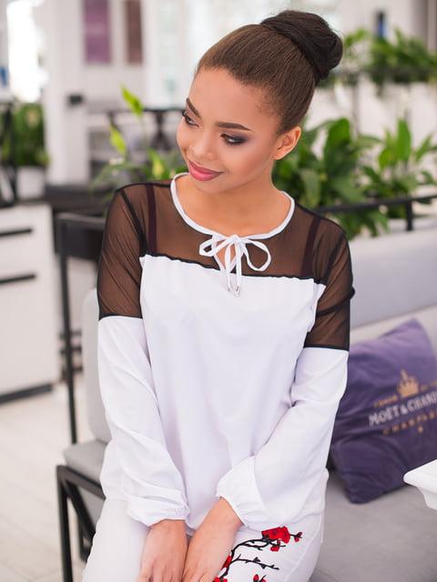 Блуза біла ELFBERG 4613788
