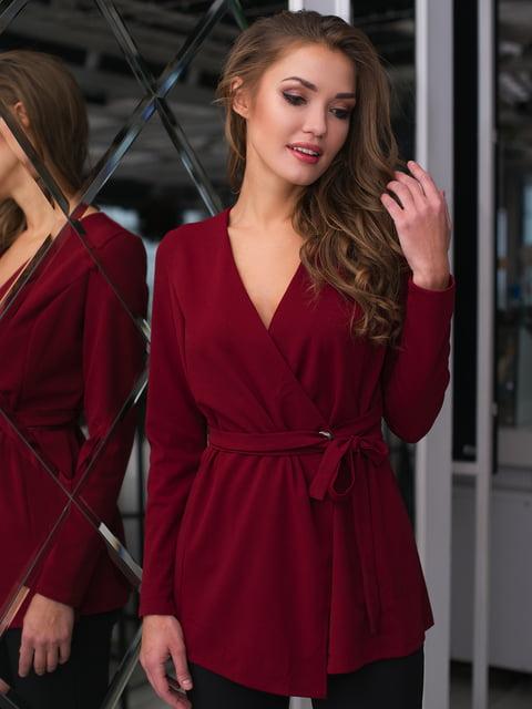 Блуза бордова ELFBERG 4669735
