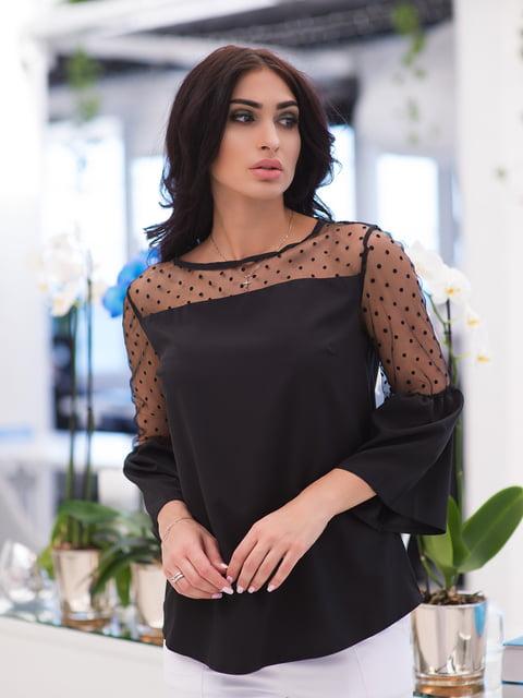 Блуза чорна ELFBERG 4950247