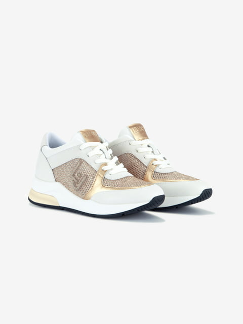 Кроссовки белые Liu Jo 4936242