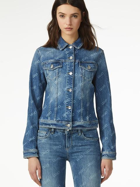 Куртка синяя джинсовая Liu Jo 4936443
