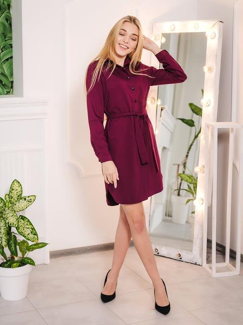 Платье цвета марсала VSV 4952080