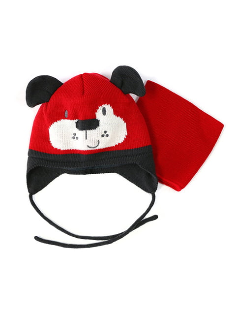 Комплект: шапка и манишка Peluche & Tartine 4952479