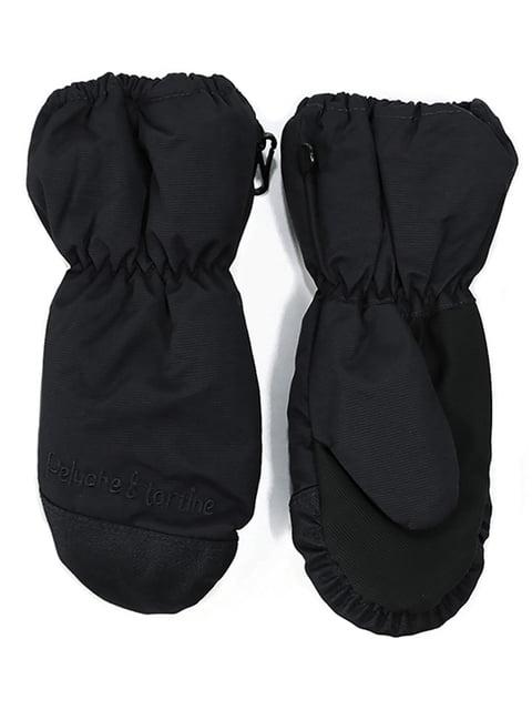Рукавицы-краги черные Peluche & Tartine 4952510