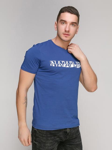 Футболка синя Napapijri 4921931