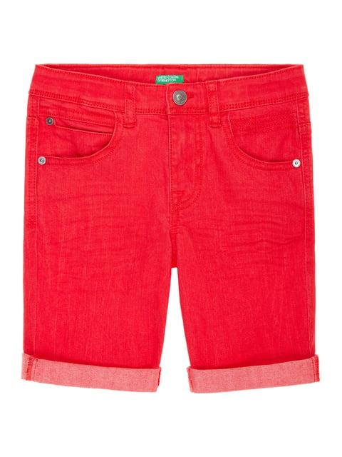 Шорти червоні Benetton 4886038
