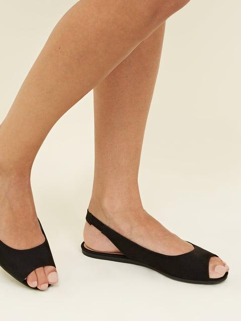 Босоножки черные New Look 4959150