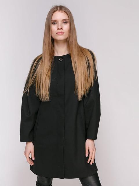 Пальто черное Zara 4877655