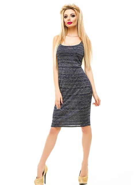 Сукня темно-синя Elegance Creation 4655533