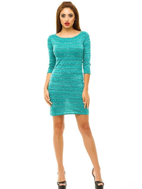 Сукня бірюзова Elegance Creation 4655534
