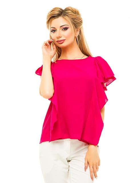 Блуза малинового кольору Elegance Creation 4655541