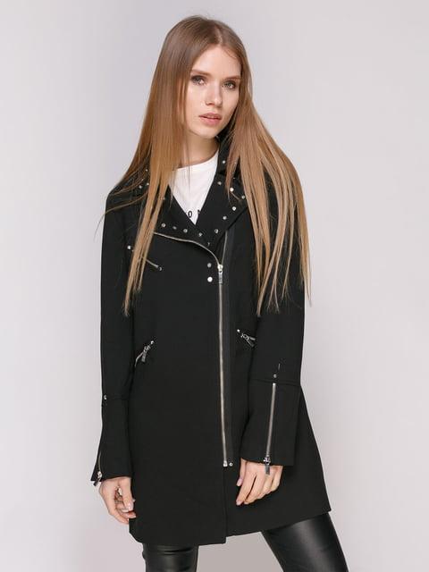 Пальто черное Zara 4874379