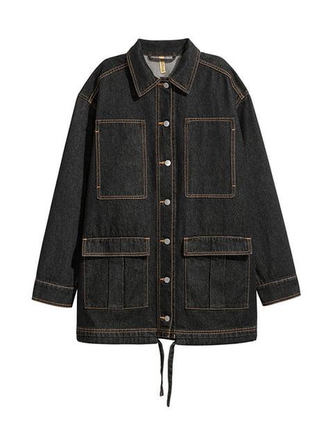 Куртка черная джинсовая H&M 4960417