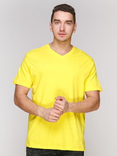 Футболка желтая Arber 4854998