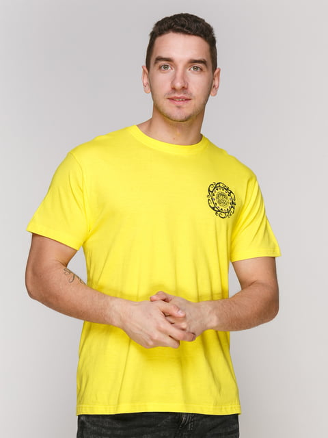 Футболка желтая Arber 4854893