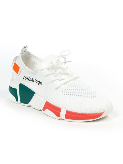 Кроссовки белые Lonza 4915181
