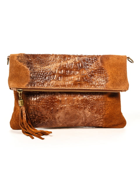 Клатч коричневий Sofia Rossi 4931826