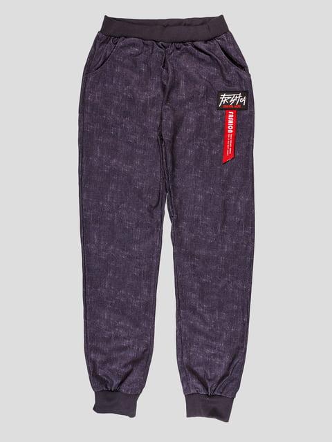 Брюки темно-синие A.Fashion 4948633