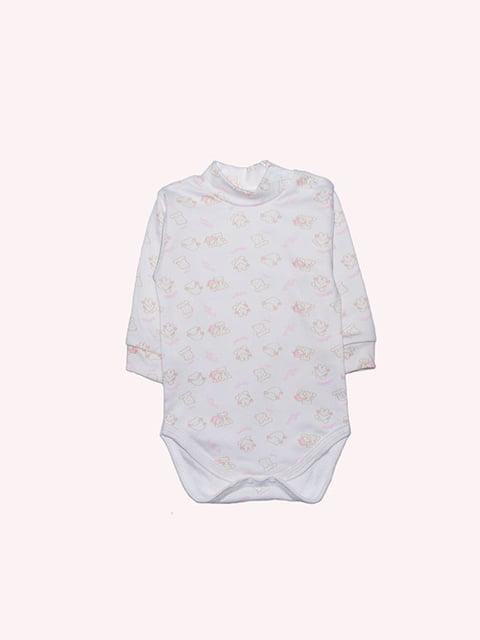 Боді молочного кольору з принтом Малыш 4971376