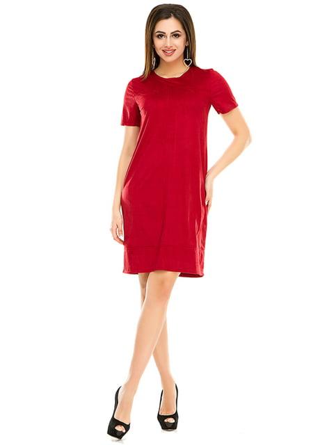 Сукня бордова Exclusive. 4973562