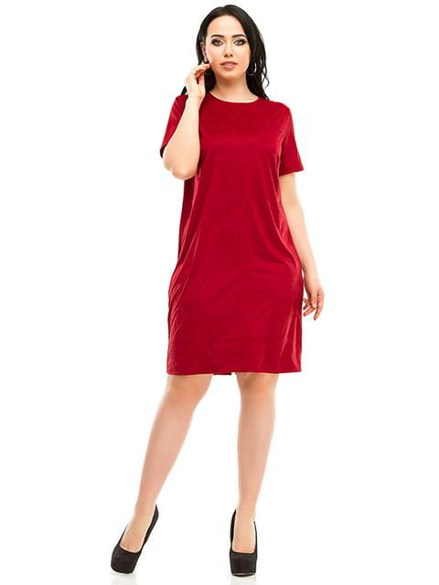 Платье бордовое Exclusive. 4973563