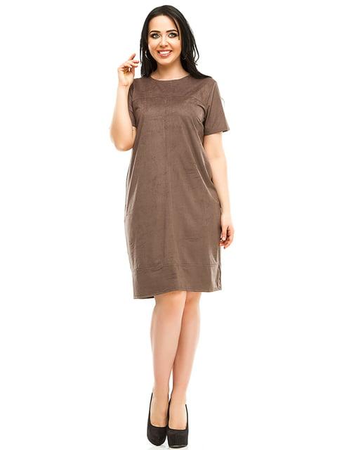 Платье цвета мокко Exclusive. 4973571