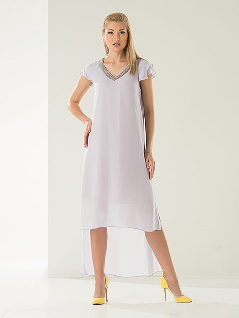 Платье сиреневое Lesya 4302411