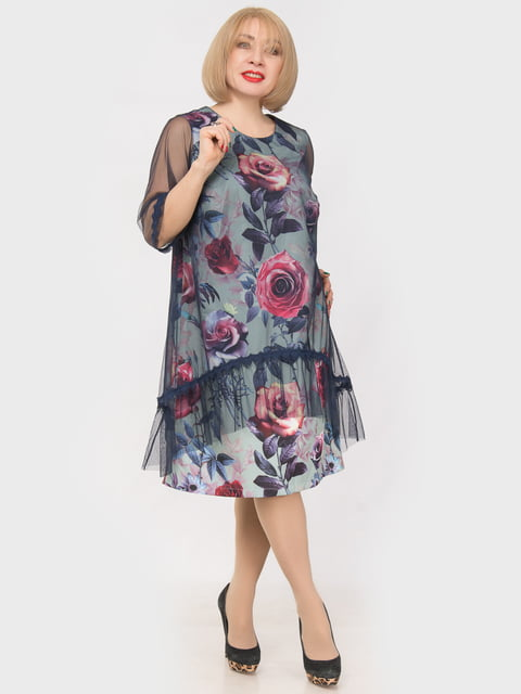 Платье голубое LibeAmore 4975271