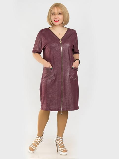 Платье бордовое LibeAmore 4975277