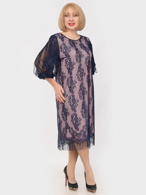 Платье сине-розовое LibeAmore 4975307